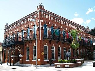 Spanish Americans - El Centro Español de Tampa is a cultural house built in 1912 in the Ybor City neighborhood of Tampa, Florida.