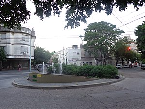 Parque Chas - Parque Chas intersection