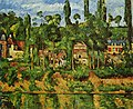 Château de Médan, par Paul Cézanne, Yorck.jpg