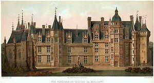 Georges d'Amboise - Château de Meillant, near Bourges (Cher).
