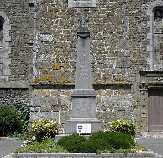 Monument aux morts de Champéon (53).