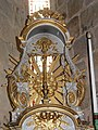 Champniers-Reilhac église Champniers tabernacle principal détail (3).JPG