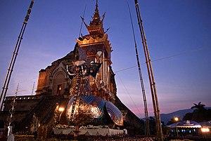Wat Chedi Luang - Image: Chan Kusalo cremation 13