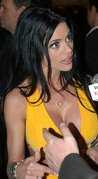 Chanel St James at the 2007 XBiz Awards 1.jpg