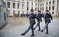 Change of guard at the Prague Castle - 9223.jpg