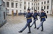 Change of guard at the Prague Castle - 9223