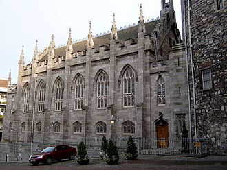 Chapel Royal, Dublin - The Chapel Royal, Dublin castle