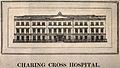 Charing Cross Hospital, London. Wood engraving. Wellcome V0013789.jpg