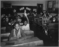 Charles County, Maryland. Upper-grade pupils in the Waldorf Negro elementary school are ready to ans . . . - NARA - 521562.tif
