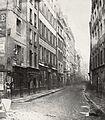 Charles Marville, Rue Phélippeaux, de la rue Volta, ca. 1853–70.jpg