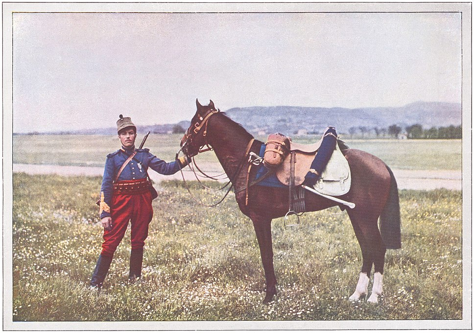 Chasseur d'Afrique, bataille de la Marne 1914