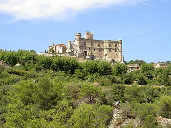 Castillo de Barroux