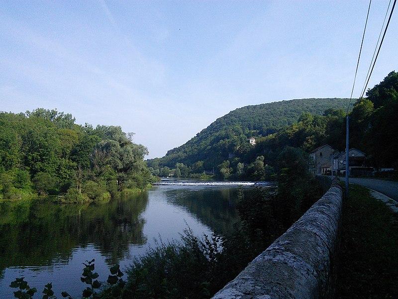 Chaux-lès-Clerval, département du Doubs, France.