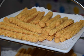 Cheese straw - Cheese straws in the United States