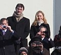 Chelsea Clinton and Marc Mezvinsky on platform at Barack Obama Inauguration (02).jpg