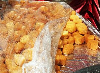 Chhena gaja - Image: Chena gaja Odia cuisine
