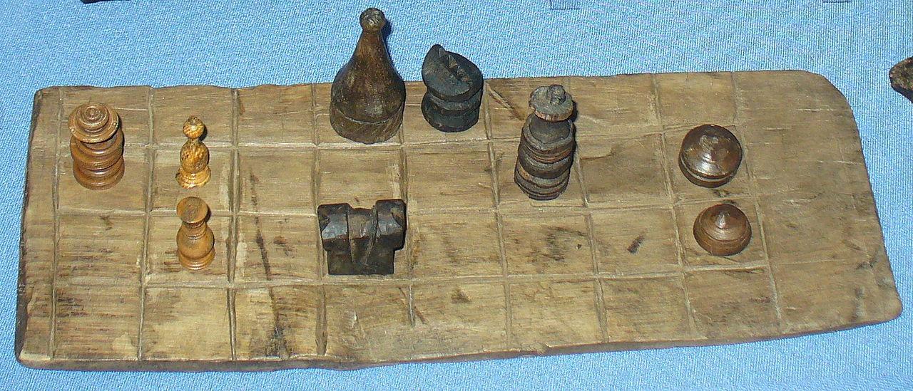Фрагмент шахматной доски