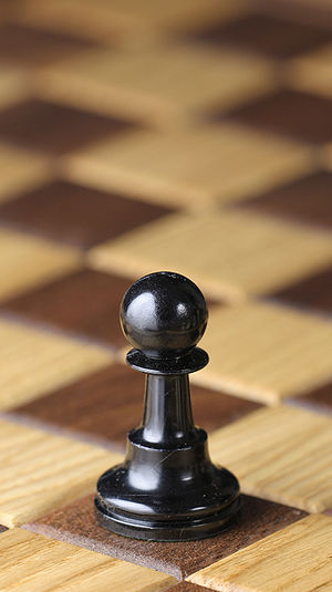 Pawn (chess) - Black pawn