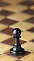 Chess piece - Black pawn.JPG