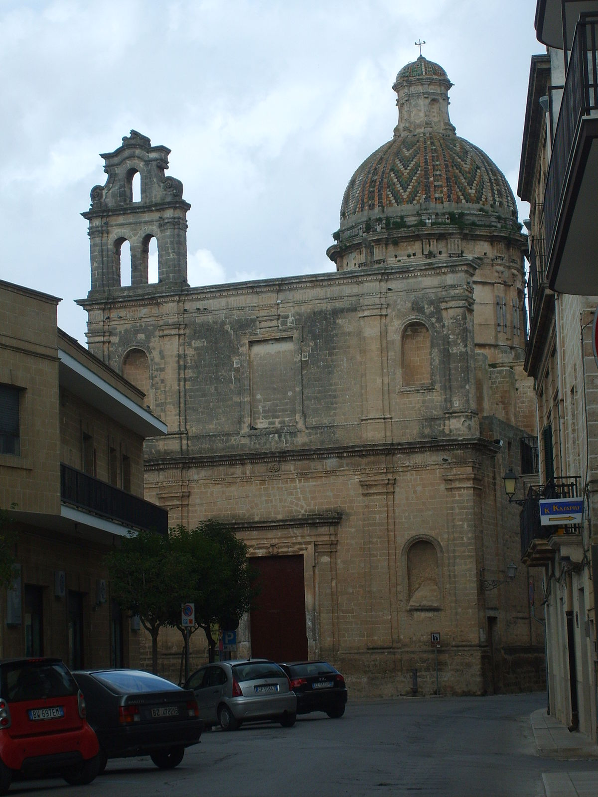 Chiesa di san sebastiano francavilla fontana wikipedia for Fiusco arredi francavilla fontana