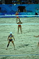 China & USA Beach Volleyball 2008 Olympic Games Quarterfinals.jpg