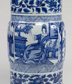 Chinese - Pair of Vases with European Women - Walters 491913, 491914 - Detail A.jpg