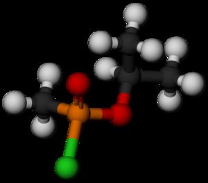Chlorosarin - Image: Chlorosarin 3D balls