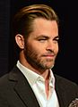 Chris Pine & Cheryl Boone Isaacs 87th Oscars Nominations Announcement (cropped).jpg
