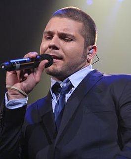 Chris Richardson American singer-songwriter (born 1984)