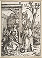 Christ Taking Leave of His Mother, from The Life of the Virgin MET DP816286.jpg