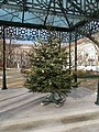 Christmas tree and bandstand, 2016 Terezvaros.jpg