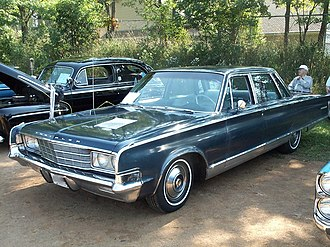 Full-size car - 1965 Chrysler New Yorker