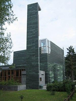 Laajasalo - Image: Church in Laajasalo Helsinki