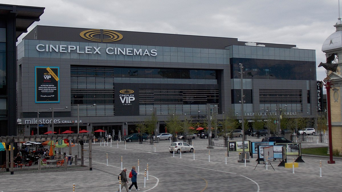 List Of Cineplex Entertainment Movie Theatres Wikipedia