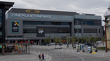 The Lansdowne location that Empire Theatres announced in 2011 was acquired  by Cineplex in 2014 and opened in 2015.