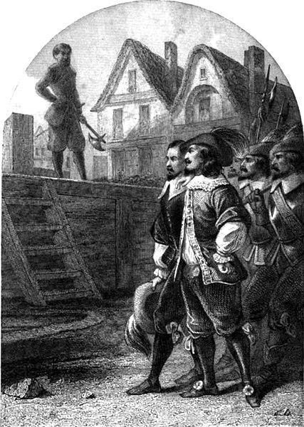 Exécution de Cinq-Mars et de Thou