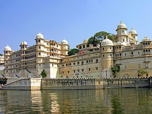 Lake Pichola - Image: City Palace of Udaipur