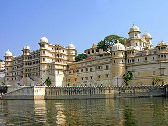 Lake Pichola - Image: City Palace of Udaipur