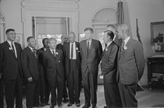 Civil rights leaders meet with President John F. Kennedy3.jpg