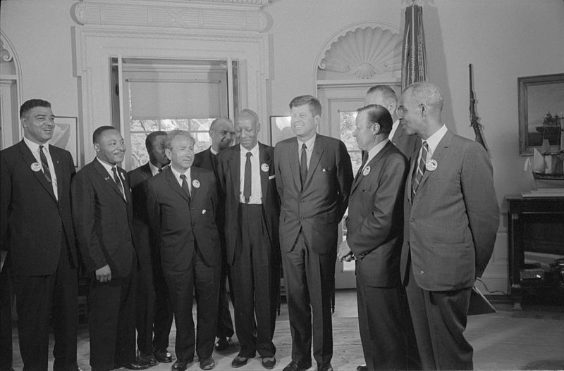 File:Civil rights leaders meet with President John F. Kennedy3.jpg