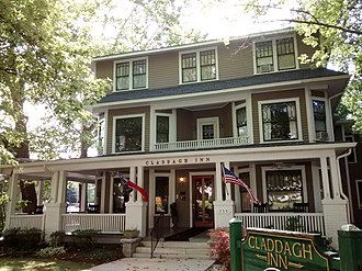 Chewning House (Hendersonville, North Carolina) - Claddagh Inn, September 2014