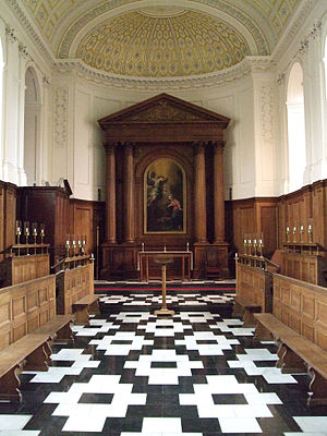 Choir of Clare College, Cambridge - College chapel