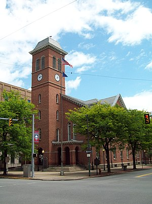 National Register of Historic Places listings in Clearfield County, Pennsylvania - Image: Clearfield County Courthouse Jun 09