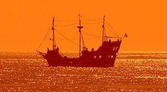 "Clearwater Beach - ""Pirate ship"" cruise"