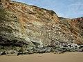 Cliffs, Watergate Bay - geograph.org.uk - 936692.jpg