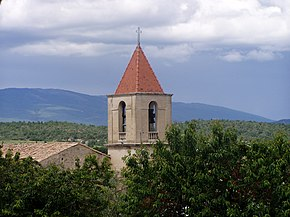 Clocher de l'Eglise - Pierrerue (04).jpg