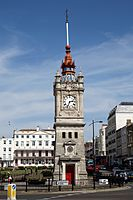 Clock Tower at Margate Kent Essex from the west.jpg