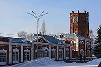 Clock tower, Yelets.JPG