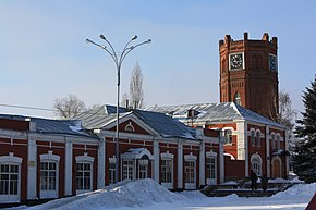 Clock tower, Yelets.JPG