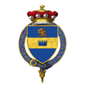 Coat of Arms of Evelyn Baring, 1st Baron Howick of Glendale, KG, GCMG, KCVO.png